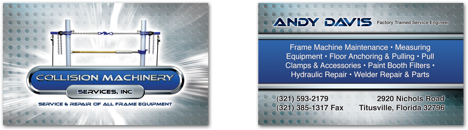 CMS - Brevard County Business Cards