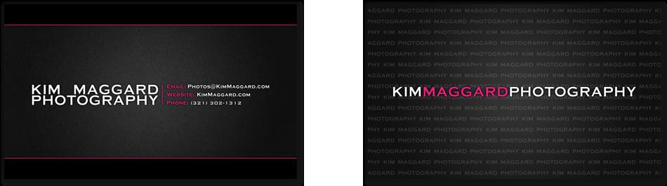 KM Photo - Melbourne FL Business Cards