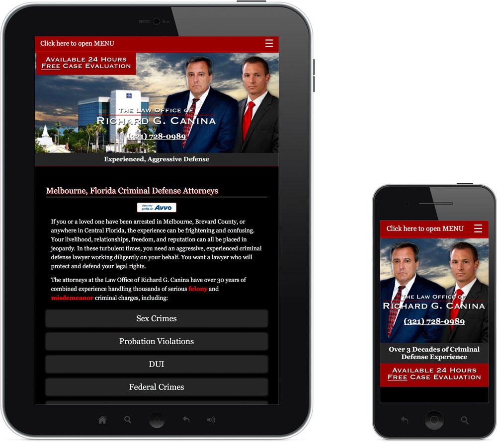 Mobile Melbourne FL web design company