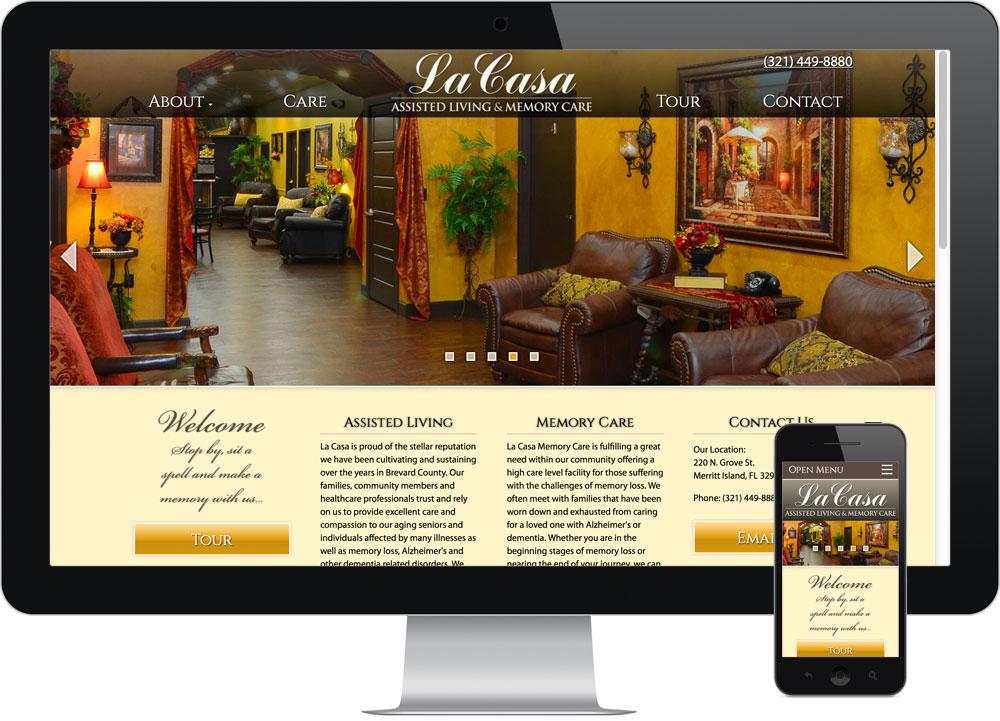 Web design Merritt Island FL - La Casa Living