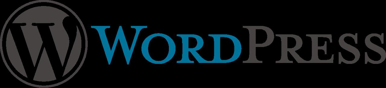 Web design WordPress logo
