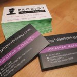 Silk business cards premium
