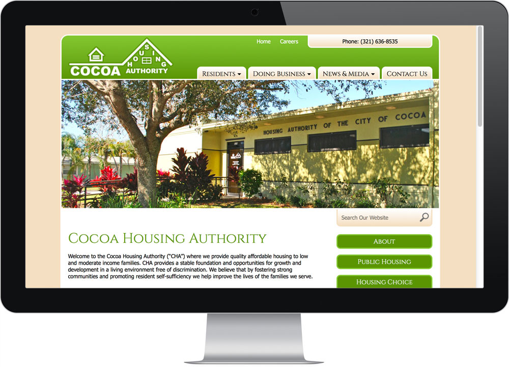 Cocoa FL website design company reviews