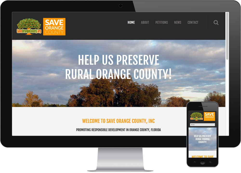 WordPress Web Design Orange County FL