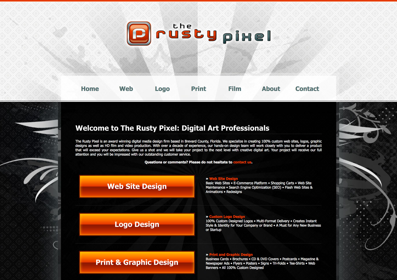 3rd web development Brevard County FL