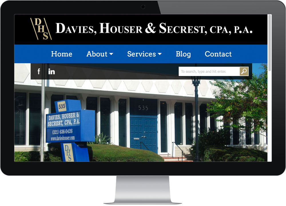 Custom Web Design Company DHS