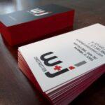 Premium Business Cards: W&J Construction 01