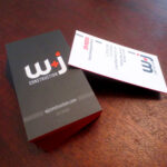 Business Cards: W&J Construction