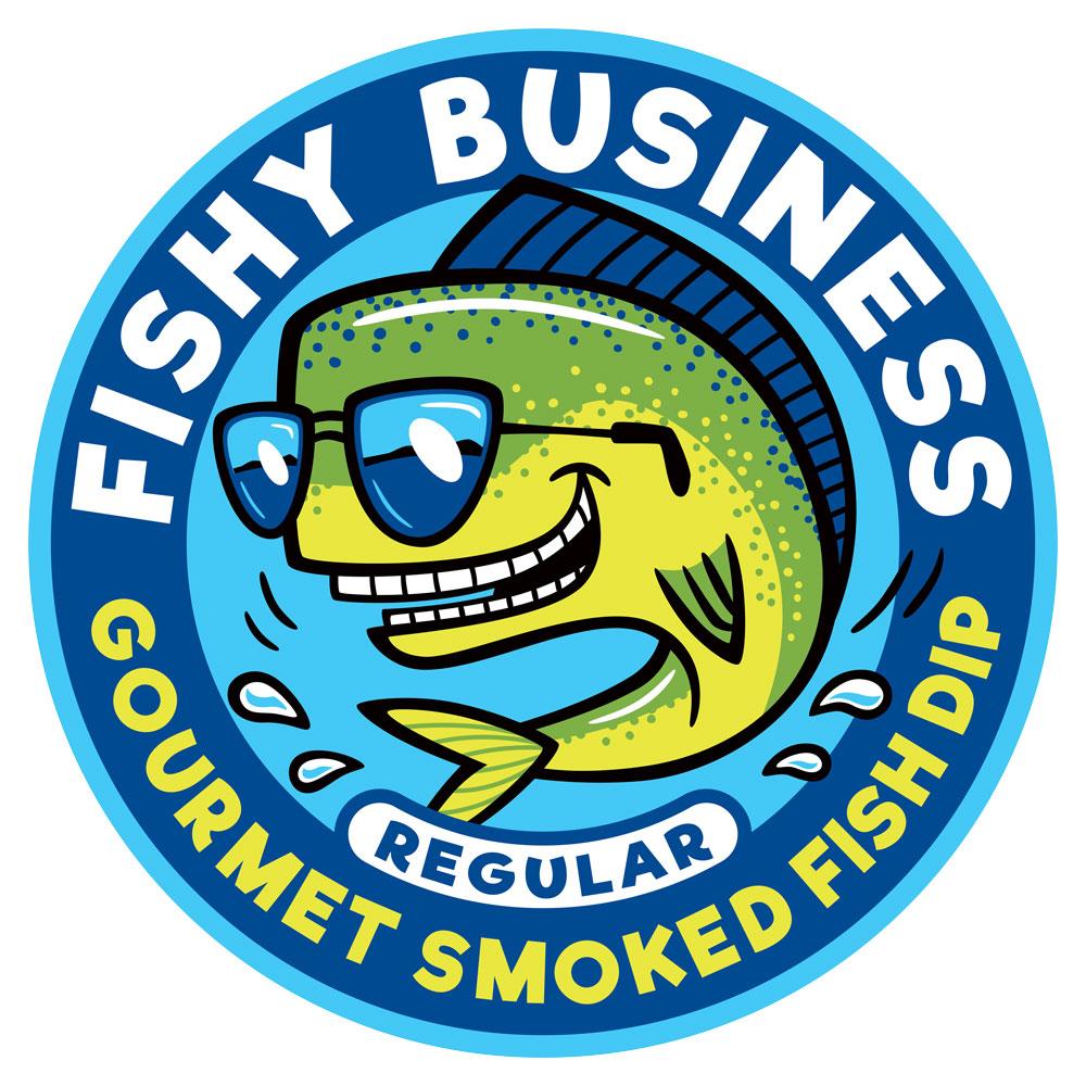 Cartoon Logo Design: Fishy Business (Regular)