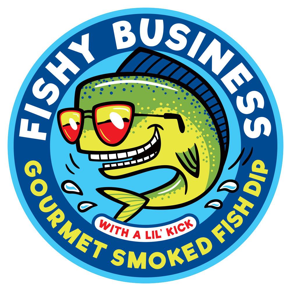 Cartoon Logo Design: Fishy Business (Spicy)