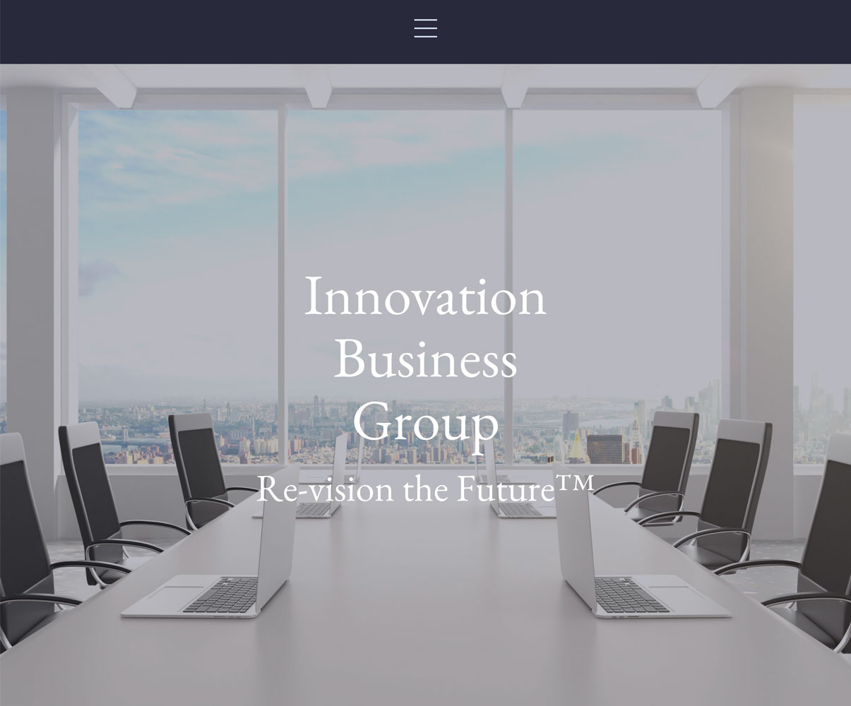 New Web Design: Innovation Business Group