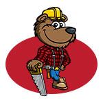 Logo Design: Star Log Cabins & Sheds