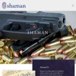New web design Shaman Sourcing