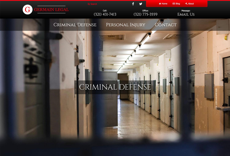 New Website: Germain Legal