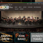 New website community band of Brevard FL