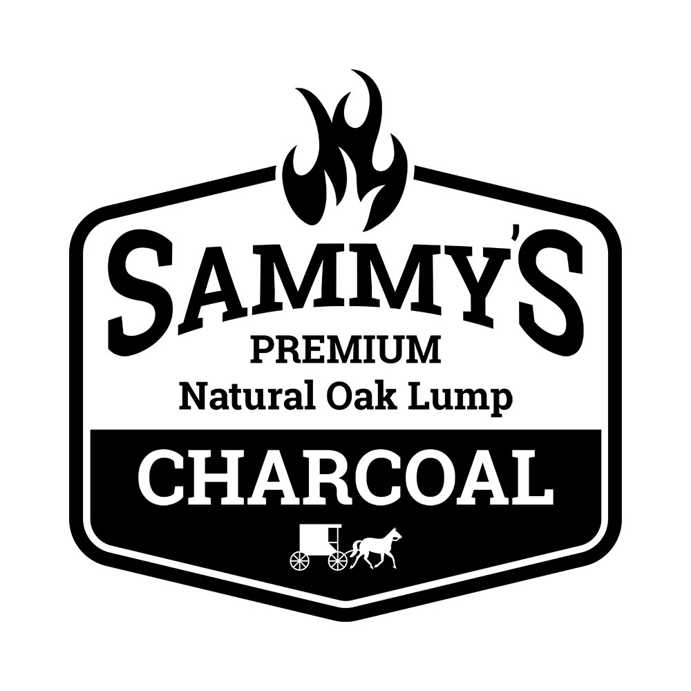 Custom Logo Design: Sammy's Charcoal