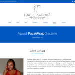 New Web Design: Face Wrap System