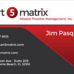 Business Cards: Smart 5 Matrix