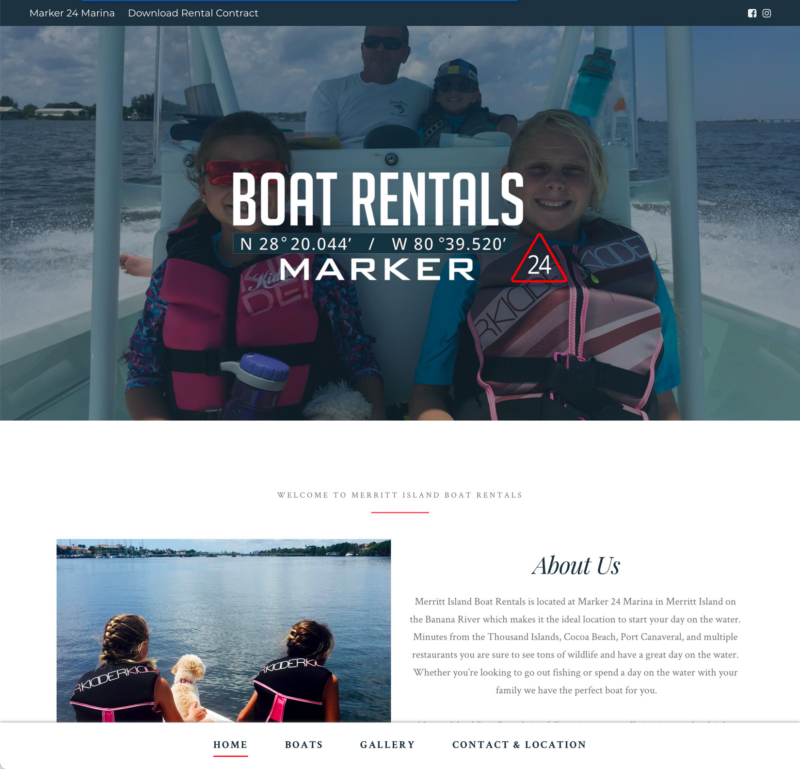 Website Launched: Merritt Island Boat Rentals