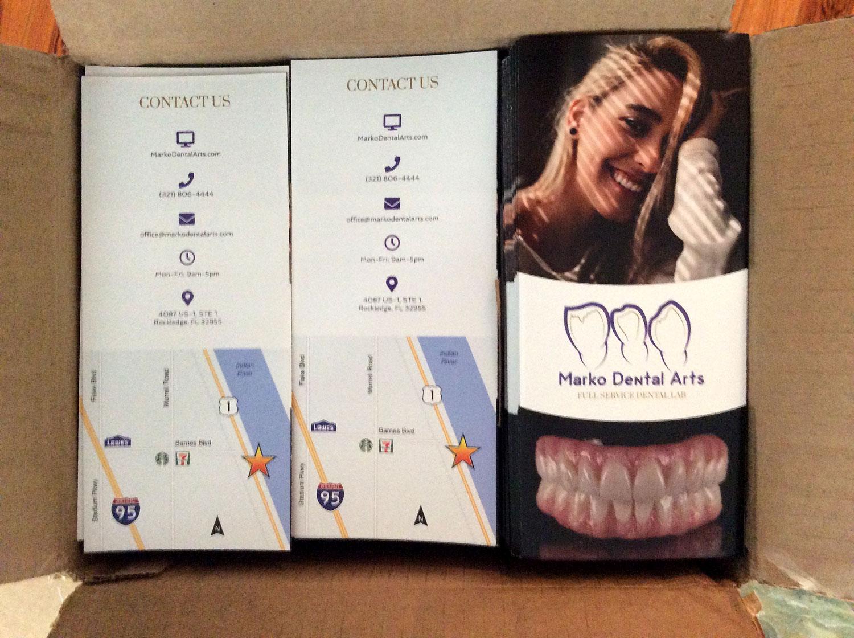 Trifolds Marko Dental Arts Box