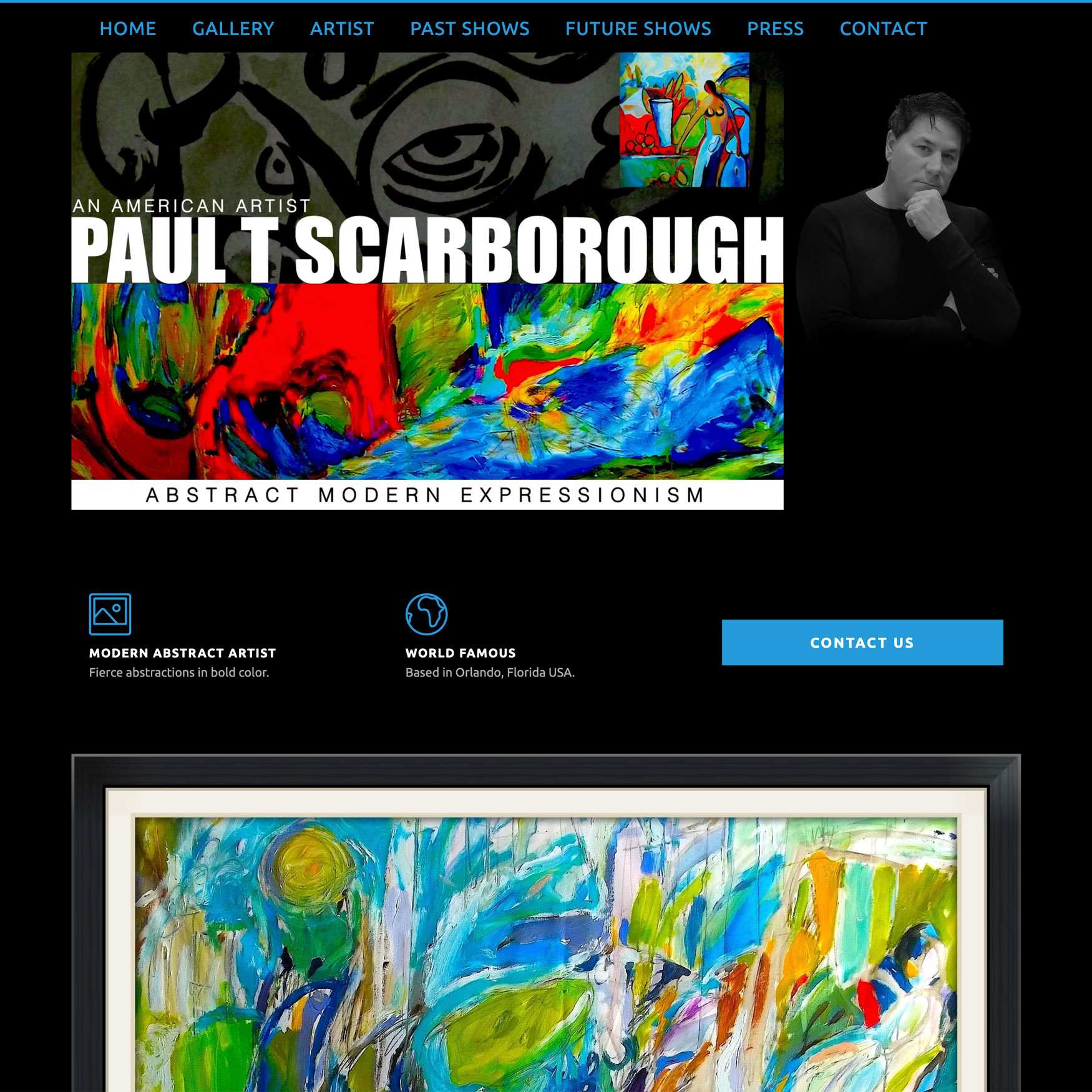 New Website Lunched: Paul T. Scarborough