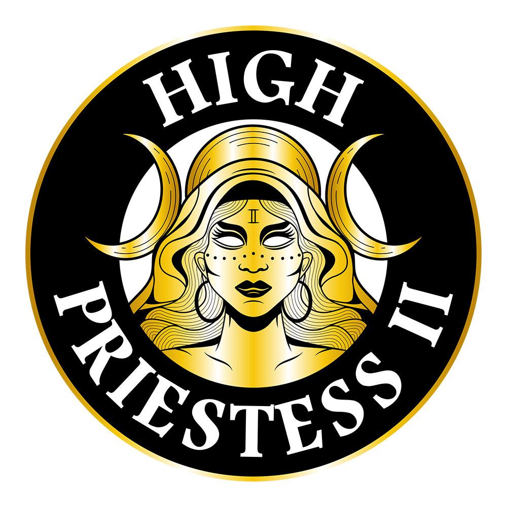 Circle Logo Design: High Priestess II