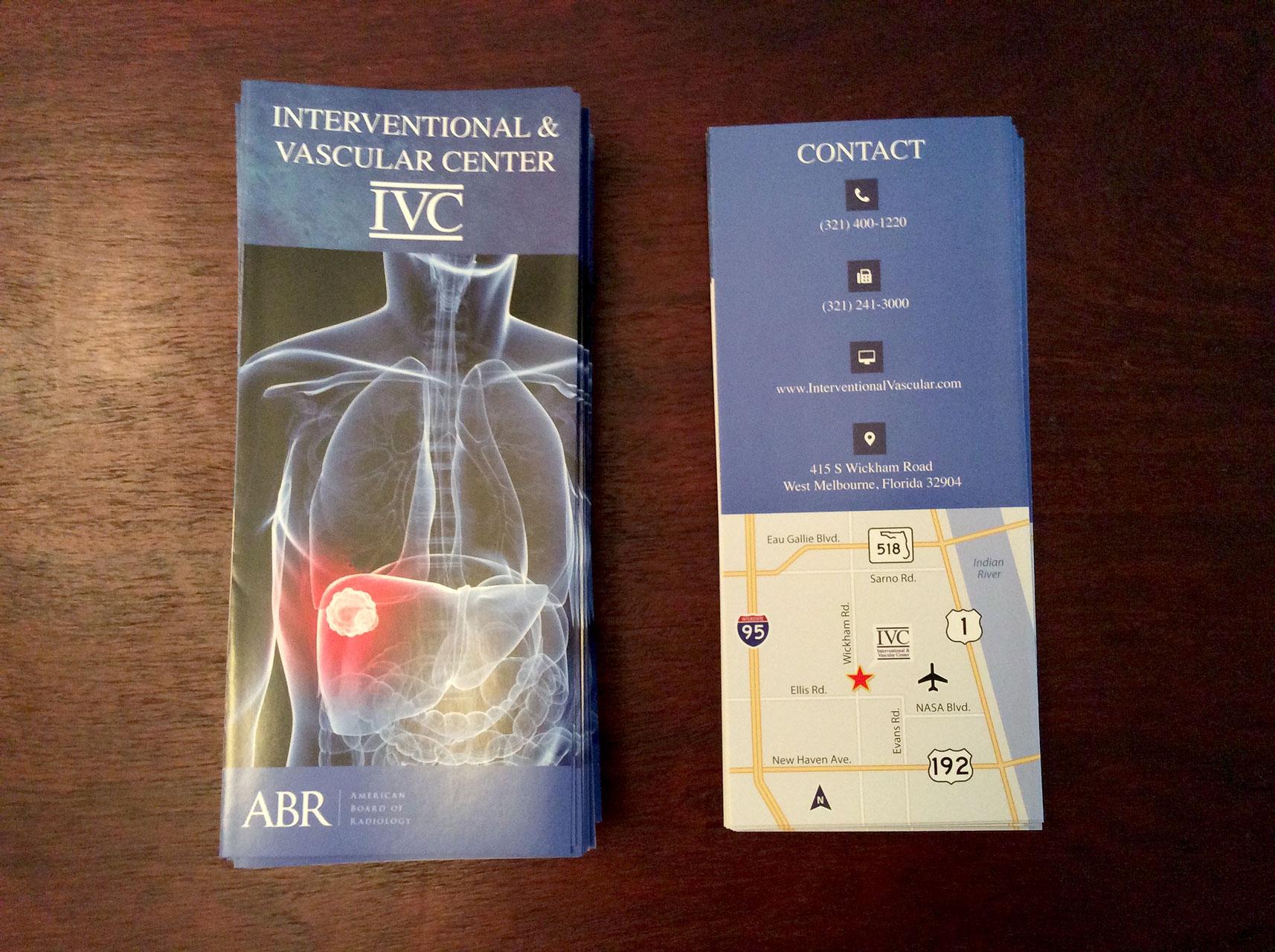 New Trifolds for the Interventional & Vascular Center (IVC) 02